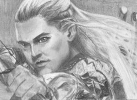 Legolas ACEO 22 by BethannNg