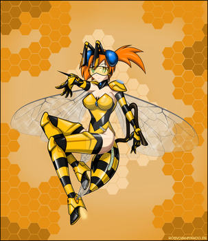 a bee by Rosvo