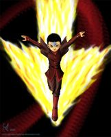 Aang, The New Firebender by Ghostsymphony