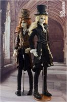 Steampunk and Gothic metal by nalisinko
