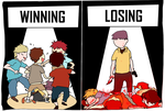 Winning and Losing by LaughButts