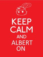 Keep Calm and Albert On by trekToons