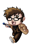 Chibi 10th Doctor v2 by TwinEnigma