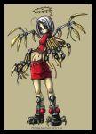 .Mechanical angel colored. by 777zibb