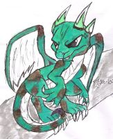 Earth dragon Adopted by Poison by raelynn109
