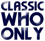 Classic Who Only logo by Sonicguru