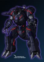 TF fanart/redesign-Trypticon by crovirus