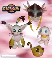 Clay Gatomon digivolve to by HeyLookASign
