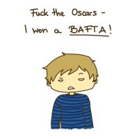 Fuck the Oscars, I won a BAFTA! by Ashqtara