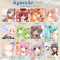 2012 Art Summary by AgnesAr