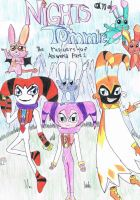 Nights and Tommie comic  cover by NIGHTSandTAILSFAN