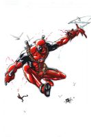 21 Pinups N 20 Days: DEADPOOL by RAHeight2002-2012