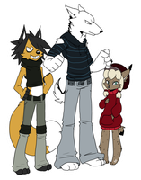 Kreed, Shine and Saro by UnknownSpy