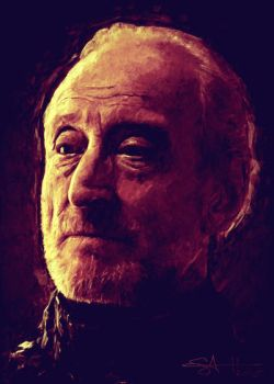 Charles Dance as Tywin Lannister by P3RF3KT
