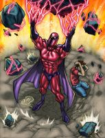 MAGNETO Color splash by JoeyVazquez
