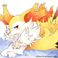 Braixen by Co0kie-Cat