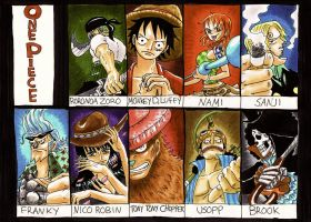 one piece-- by heivais