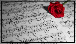 Play Me a Rose by morbid-picasso