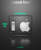 Mac OS X Control Panel Icon by Deiz787