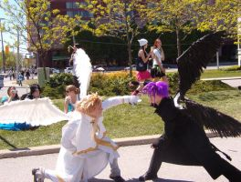 DNangel fight Anime North 2008 by Neko-Saruwatari