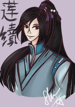 .: Chinese guy (the full colour) :. by LonelyNightSheep