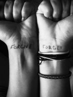 forgive and forget. by SelfTitledNightmare