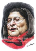 Mercedes Sosa by BrokenMachine86