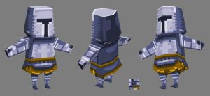 Mobile 3d Knight by VRES