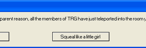 TRG Error Message by Shake666Productions
