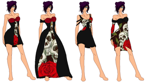 gothic outfit designs 5 by MemaidGirl