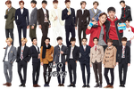 EXO PNG Pack {IVY Club 2015 Part.10} by kamjong-kai
