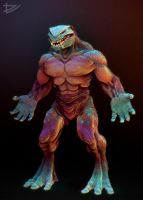 Zbrush alien wip2 by Tyrus88