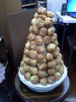 My Croquembouche by SaturnsLegacy