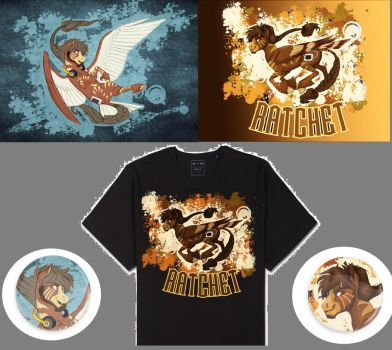 Ratchetness Merch: UPDATED by Earthsong9405