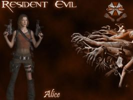 Resident Evil - Alice by LeX-207