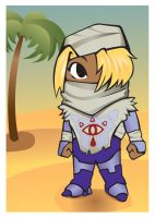 Old School- Sheik Trading Card by TheOGCarrieP