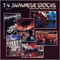 74 Japanese Stocks Part 1 by LizzKaviste