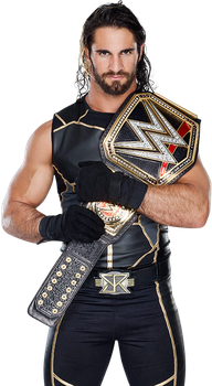 sith ronals wwe champion by REDBOYKH