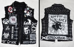 Horror Punk Vest by CityUndead