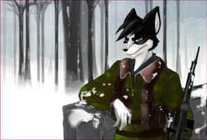 Soldier -Color- by HarumiSurya