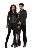 Edward y Bella PNG Breaking Dawn II by MajoAlgo