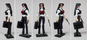 Business Casual Baroness Custom Figure by GeekVarietyDotCom