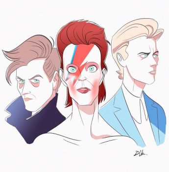 Bowie by Domcell