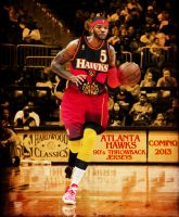 Atlanta Hawks Throwback Jerseys by rhurst