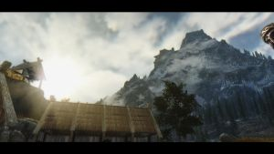 Whiterun Stables by lalalu24