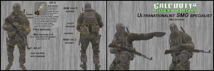 COD4:MW1 Ultranationalist SMG specialist analysis by DrJorus