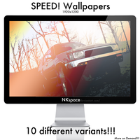 SPEED Wallpaper by NKspace