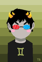 sollux by darndragon
