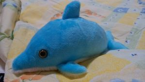 Plush Dolphin Pattern by LaurenceLi