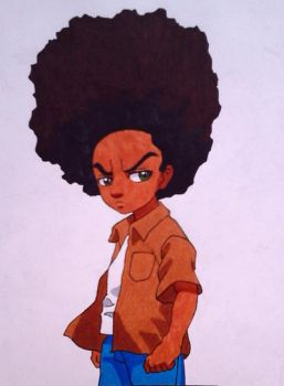 Huey  Freeman by tribean85
